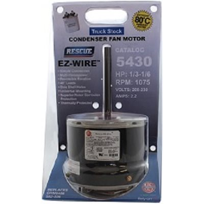 # EM-5430 - 1/3-1/6 HP, 208-230 VOLT